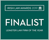 irish law awards 2019 finalist
